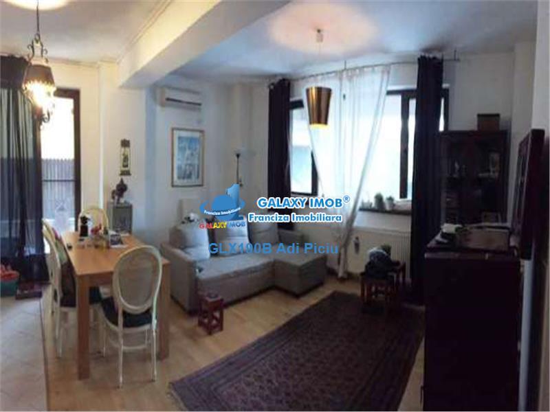 Inchiriere apartament modern cu curte Baneasa Sisesti