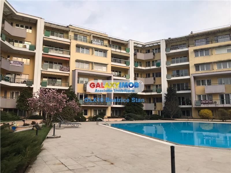 Inchiriere apartament spatios in complex cu piscina Parcul Herastrau