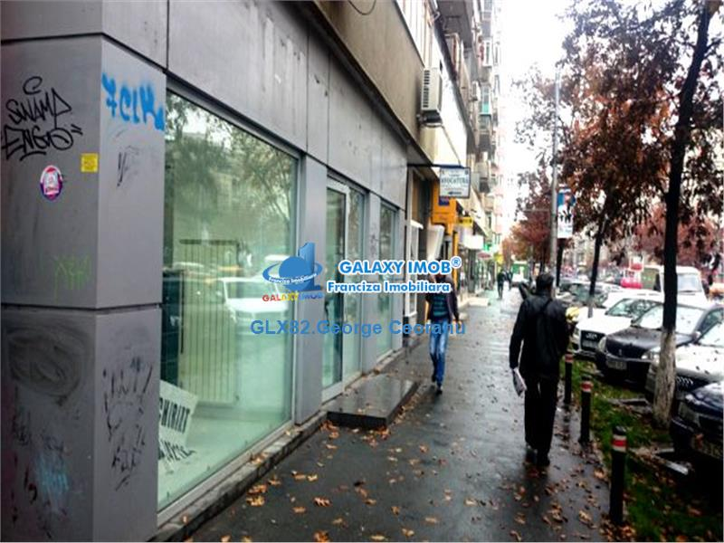 Inchiriere spatiu comercial 135 mp stradal Calea Mosilor Blvd Carol