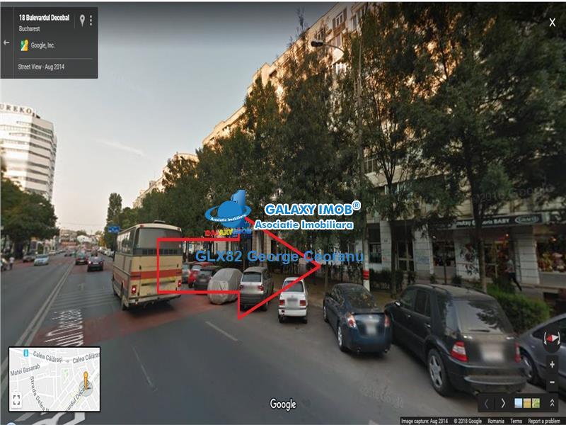 Inchiriere spatiu stradal 117mp Blvd Decebal piata Muncii