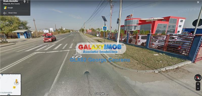 Inchiriere spatiu  stradal 500mp Bucuresti Magurele depozit/showroom
