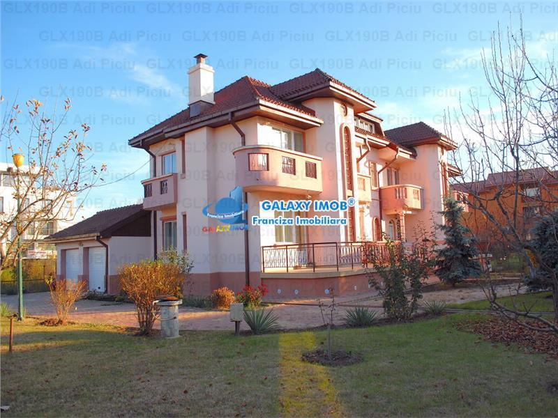 Inchiriere  Vila cu 5 camere Baneasa Jollie Ville