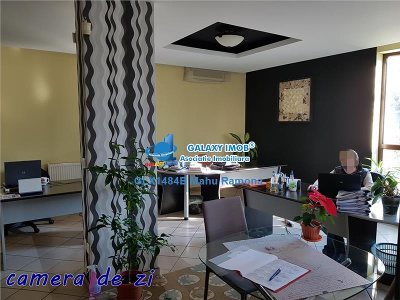 Inchiriere vila superba D+P+1+M, pentru birou (Baneasa, Regina Maria)