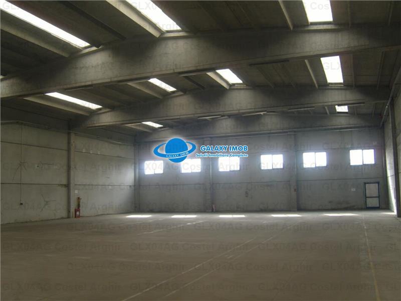 Inchiriez hala depozitare sau productie in Maracineni, de la 1 sept.