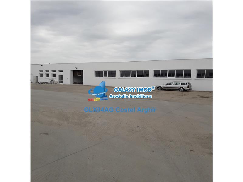Inchiriez hala industriala in Pitesti-Bascov 1500 mp, acces TIR