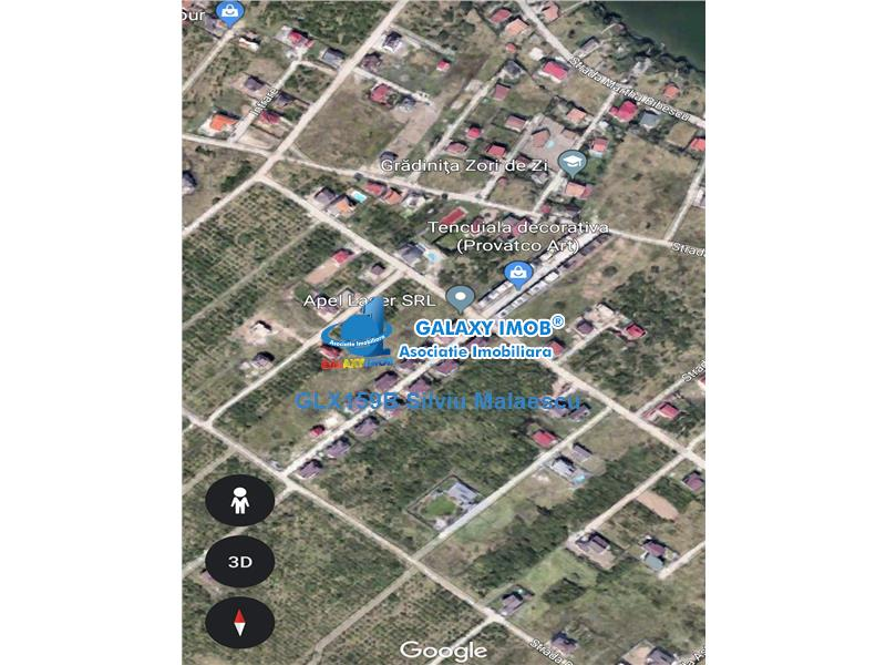 Mogosoaia - Teren 1.995 Mp - str. Senatorilor