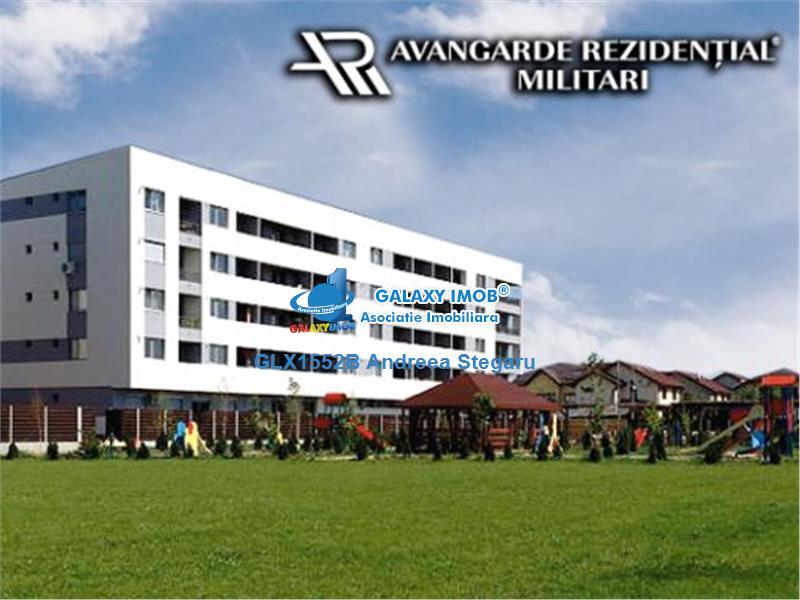 Nou! Apartament cu 2 camere de inchiriat Militari Avangard Rezidential