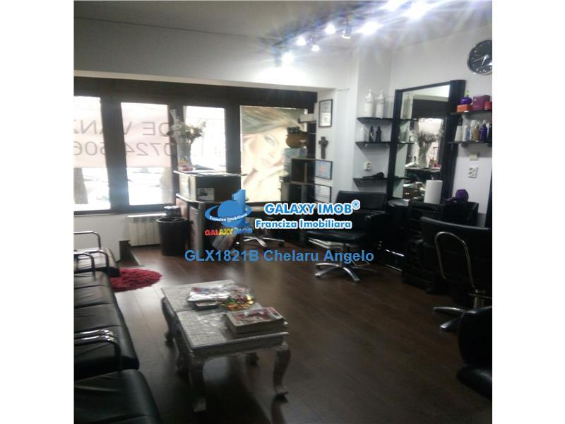 Obor,Salon de Infrumusetare,utilat si mobilat lux