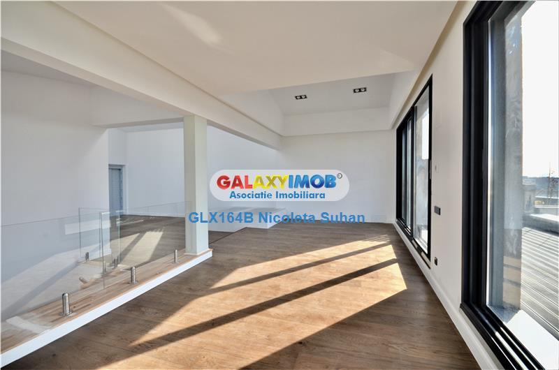 Penthouse 4 camere Herastrau - Premium, Vedere Parc
