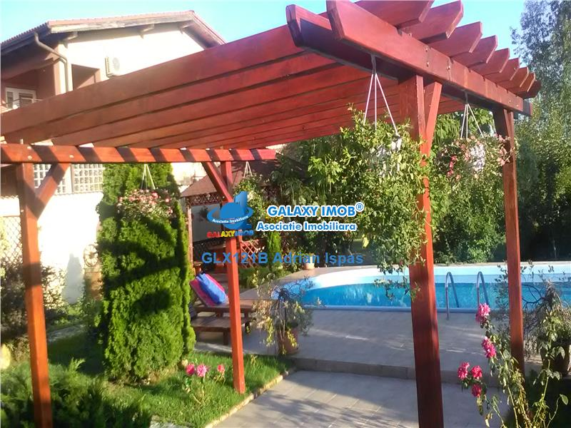Pipera,vanzare grup de 2 vile cu piscina,gradina si teren aferent