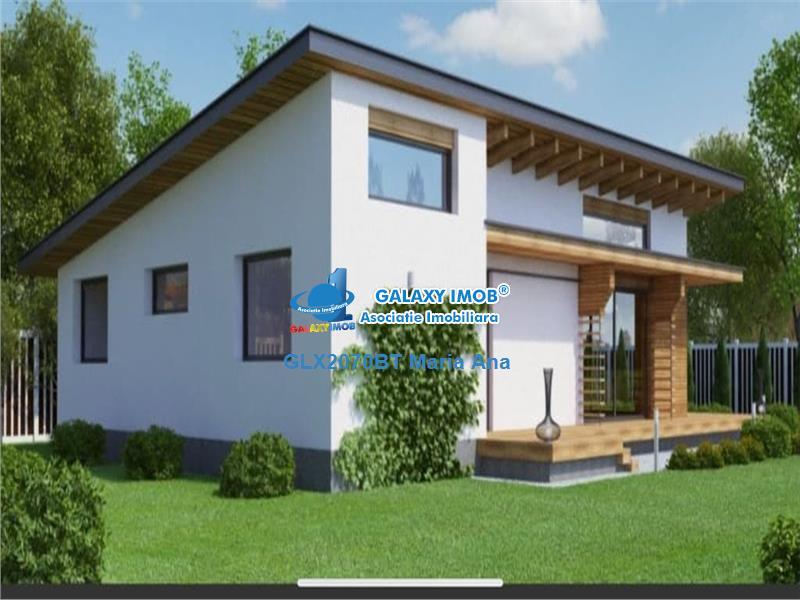 Casa 175 mp., cu teren, proiect !