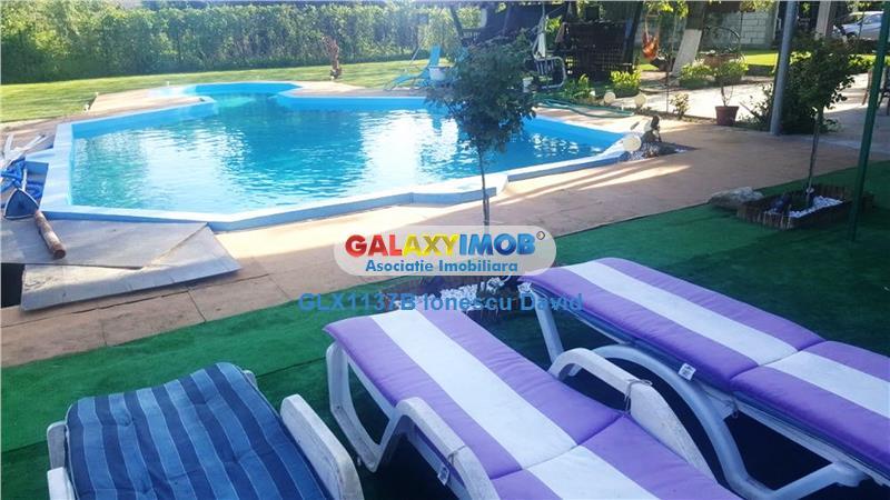Seria Case Premium | Vila cu piscina si curte libera 1300 mp