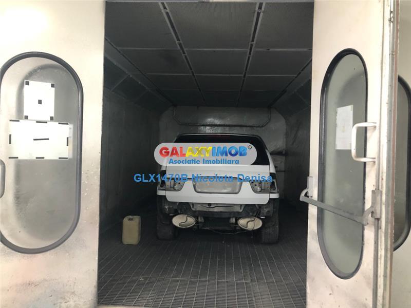 Service auto modern, hala 950mp utili, teren 1379 mp.Theodor Pallady.