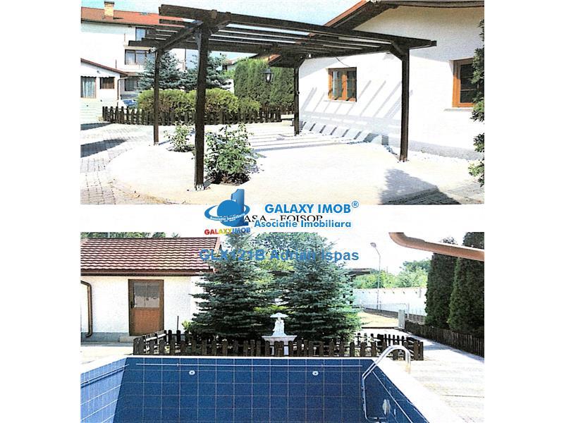 Snagov,oferta vanzare vila cu teren tenis,spa si piscina