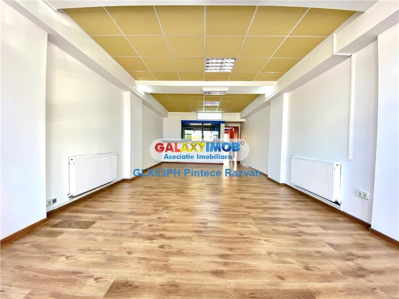 Spatiu comercial stradal, 145 mp, vitrina 6 ml, renovat, Cantacuzino