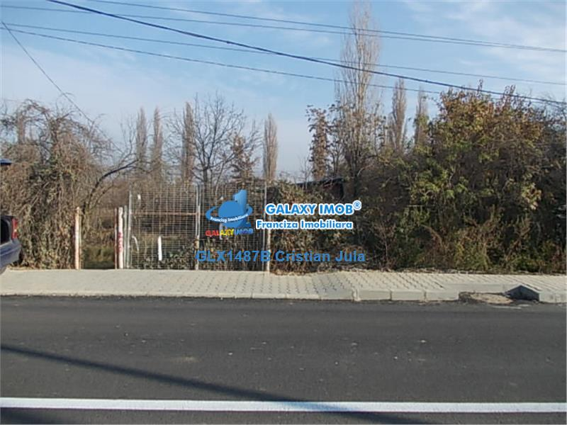 Strada Oxigenului Chitila forma patrata