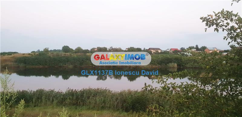 Teren de vanzare cu autorizatie | Lac Padure Balotesti Moara Vlasiei
