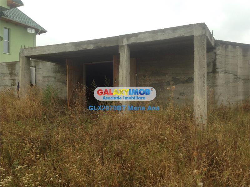 Teren + Fundatie casa, zona Cornisa!