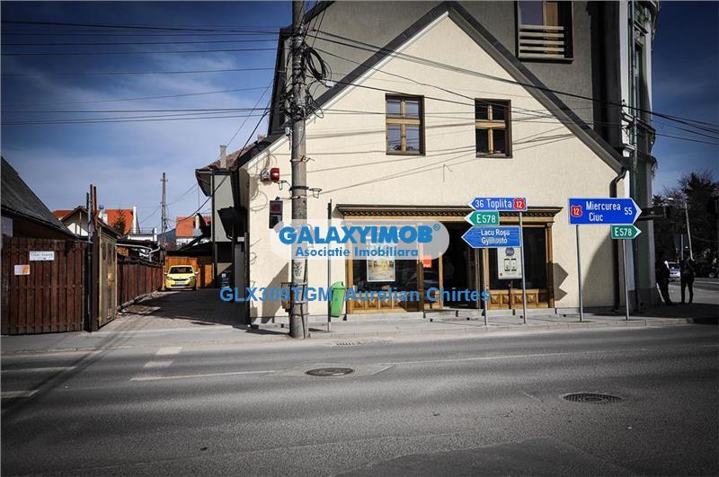 Vand afacere la Cheie in Gheorgheni formata din Pub,Pensiune,Gelaterie