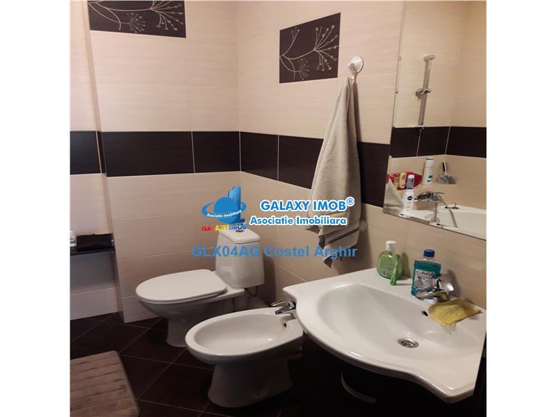Vand apartament 3 camere, mobilat si utilat in Stefanesti,