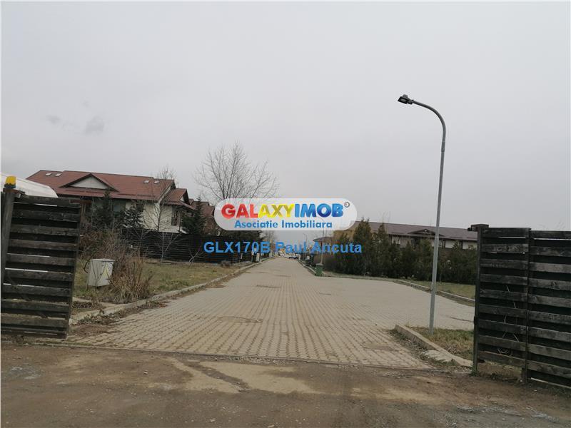 Teren Balotesti Saftica str Fabricii 28800 mp  canalizare Rezidential