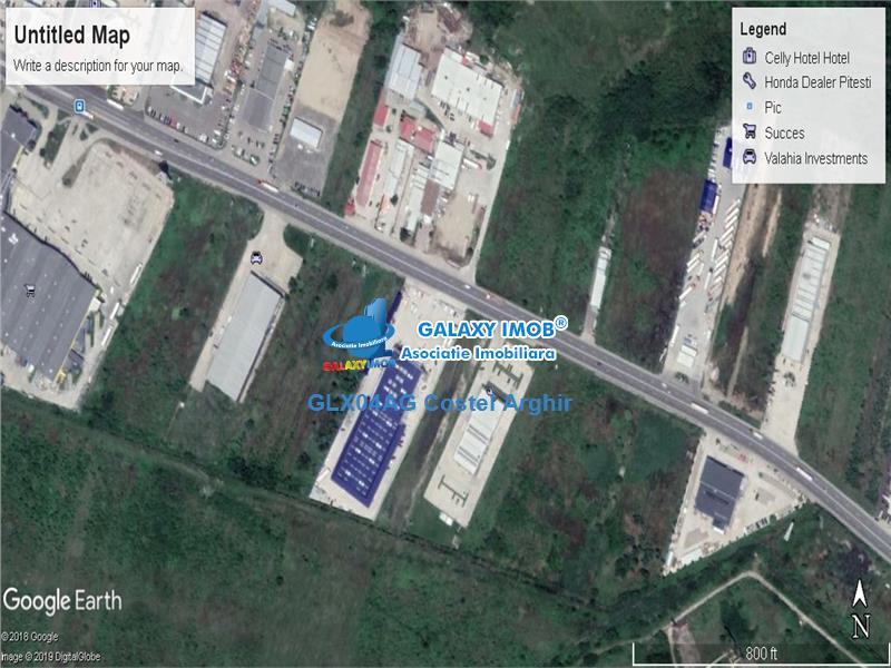 Vand teren industrial 5900 mp Pitesti