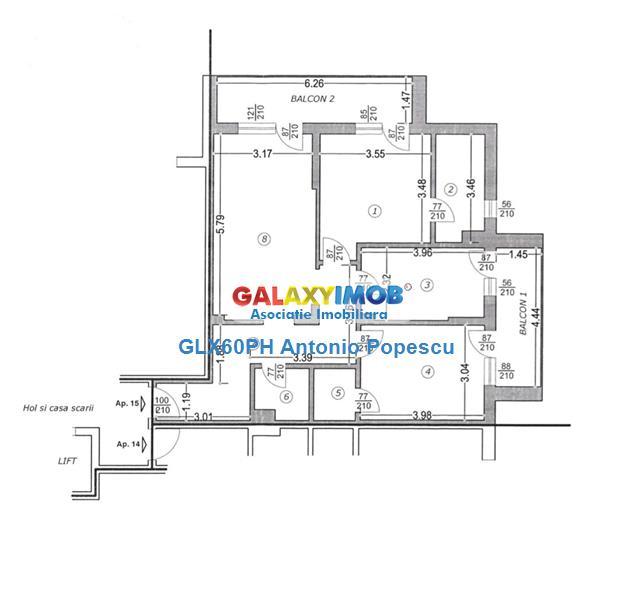 Vanzare apartament 3 camere, bloc nou, in Ploiesti, zona Nord