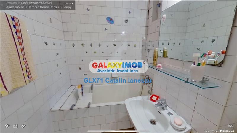 Vanzare apartament 3 camere Camil Ressu metrou N Grigorescu