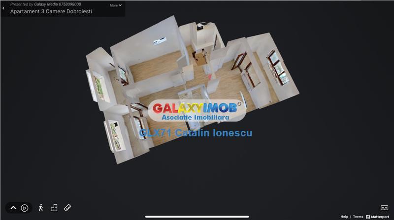 Vanzare apartament 3 camere Dobroiesti