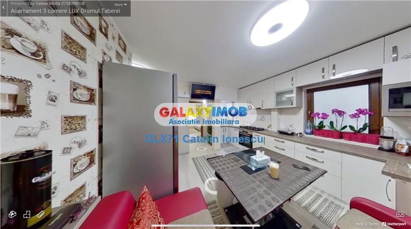 Vanzare apartament 3 camere LUX Drumul Taberei metrou Valea Ialomitei