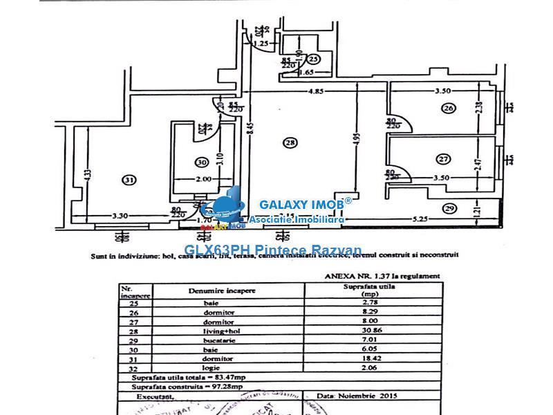 Vanzare apartament 4 camere, bloc 2015, Ploiesti, zona 9 Mai