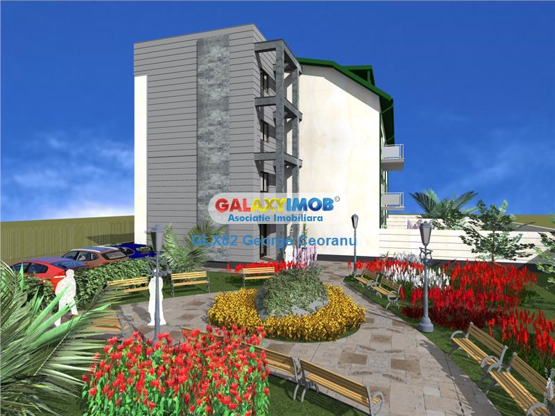 Vanzare apartament 4 camere, gradina de 200mp Sisesti