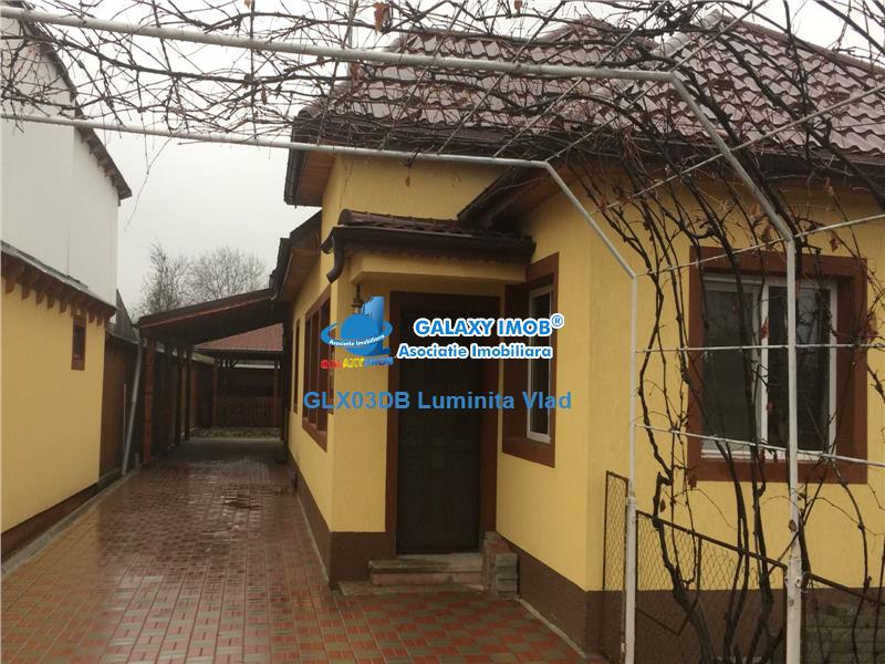 Vanzare casa 4 camere Ghirdoveni 110mp + 1200mp teren