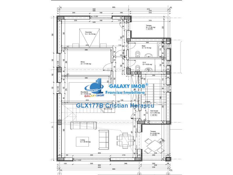 Vanzare casa ultra moderna mogosoaia glx177b0612 for Planimetrie della casa ultra moderna