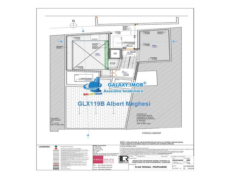 Vanzare-Inchiriere Hotel D+P+2+M Strada Labirint 1160 mp