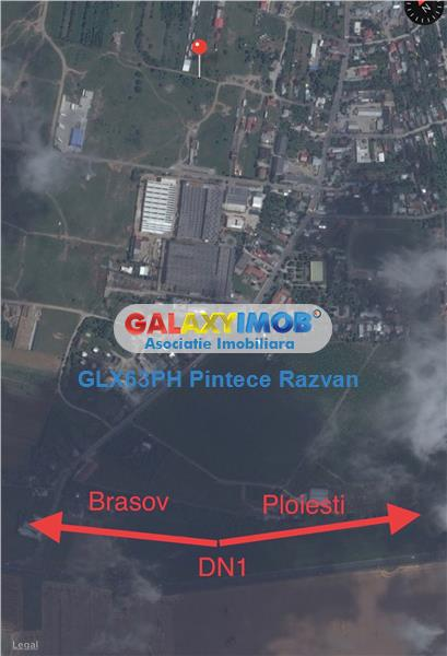 Vanzare inchiriere teren intravilan 2760mp zona industriala DN1 Baicoi