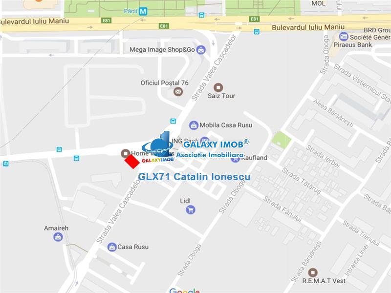 Spatiu comercial Militari Cascadelor/Preciziei 1300 euro/mp