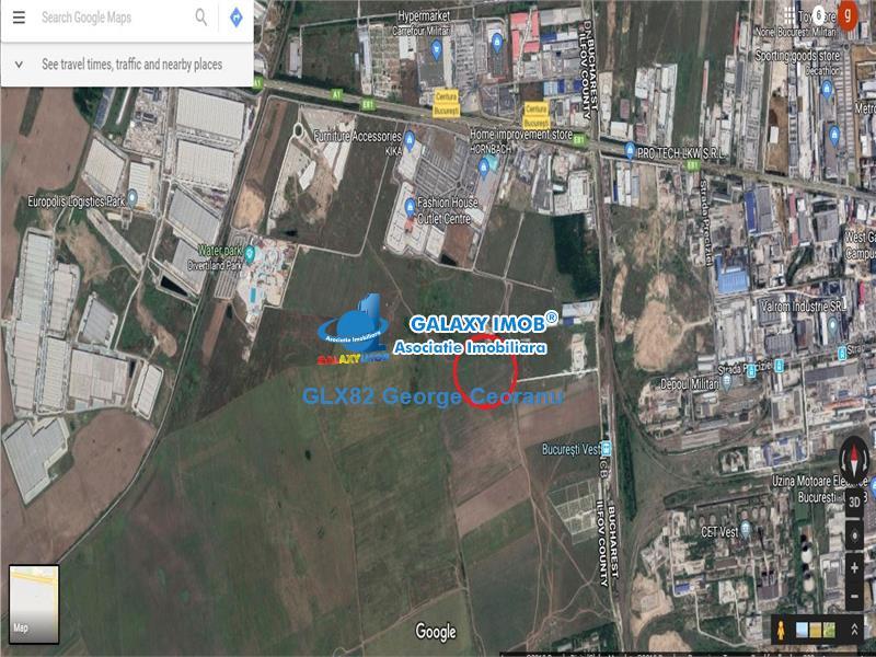 Vanzare teren 10.000 Hornbach Militari