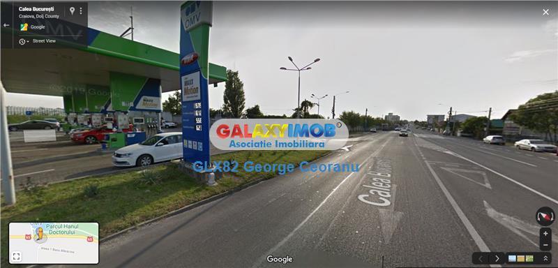 Inchiriere teren total sau partial,stradal, Craiova Calea Bucuresti