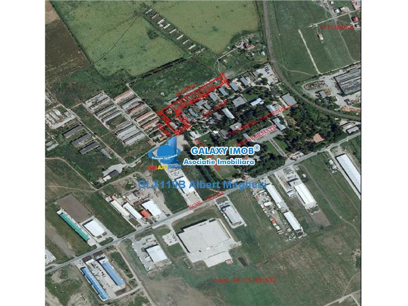 Vanzare Teren Intravilan 7697 mp Otopeni  POT 85 % CUT 2,2 Hmax 15 m