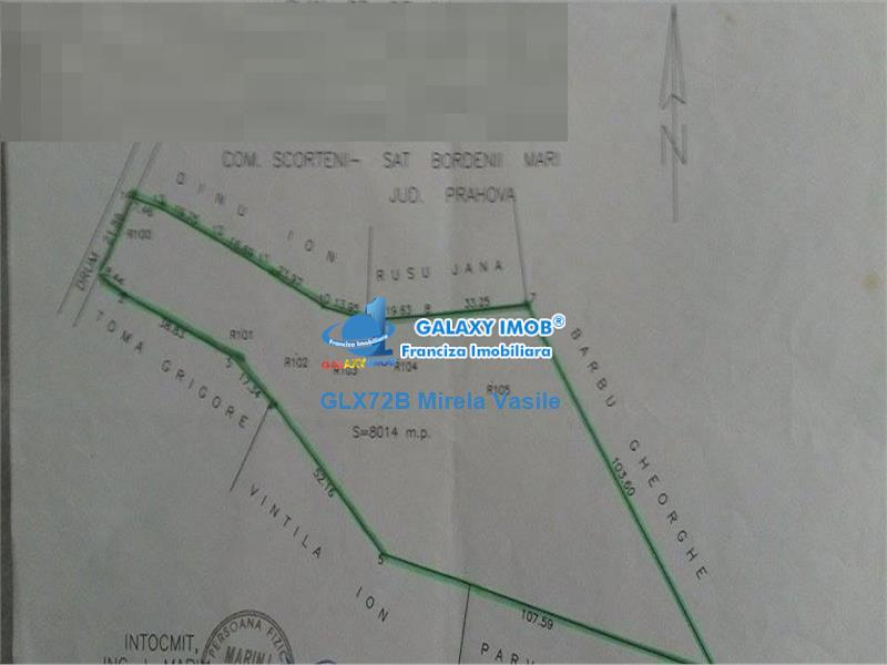 Vanzare teren intravilan Bordenii Mari Prahova