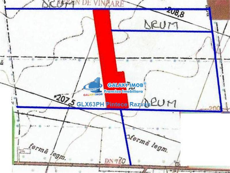 Vanzare teren intravilan, 11,4 ha, West Park Ploiesti, Prahova