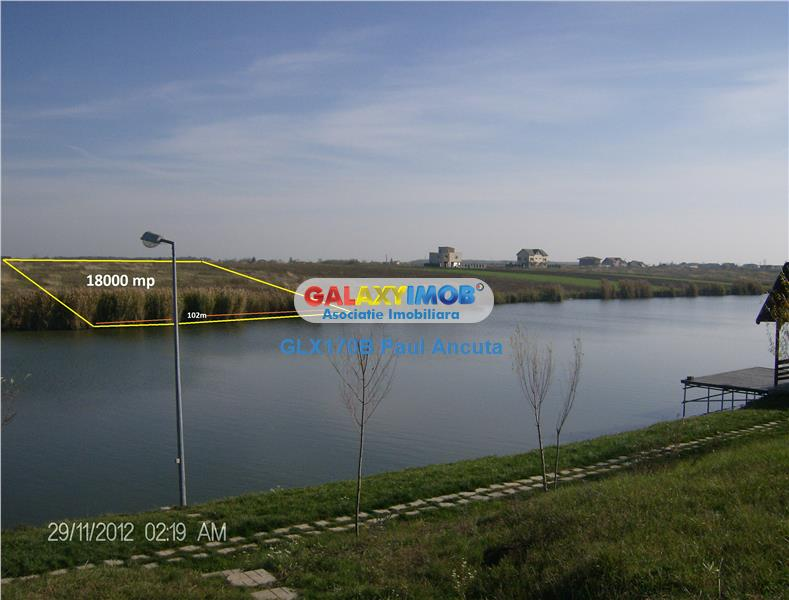 Teren Corbeanca Lac  zona Laguna Albastra 18700 mp