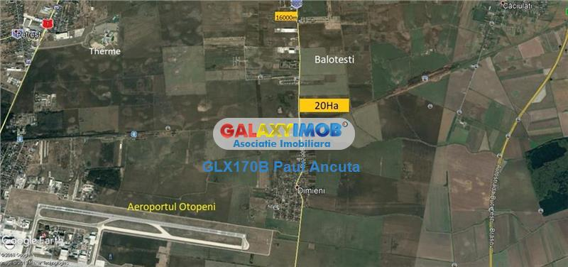 Teren Balotesti Tunari  sosea  Industrial 16000 mp