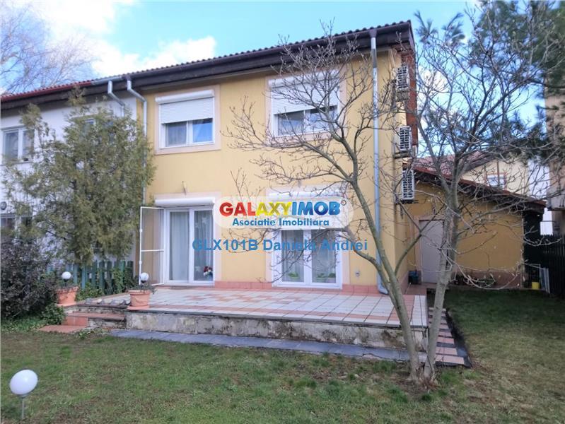 Vanzare Vila lux noua 2001,teren de 255mp,Bucuresti,Pipera 290000 Euro