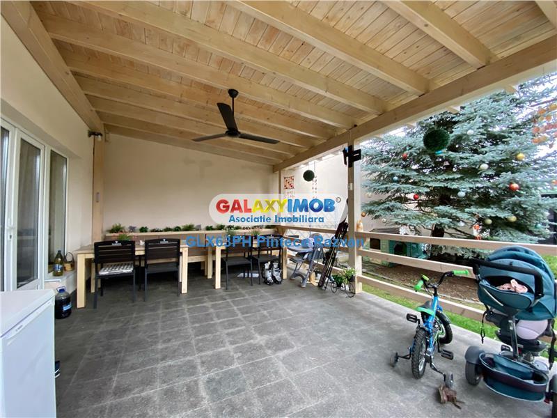 Vila moderna P+1E 4 camere in cartier rezidential parc Bucov Ploiesti