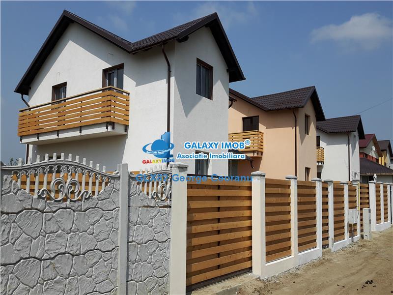 Vila P+1 la cheie 5 camere, 300 mp teren, de vanzare in Magurele