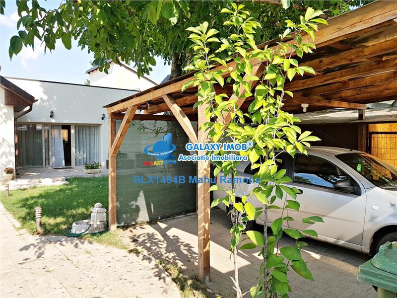 Vila P+M Straulesti, curte mare, zona foarte linistita