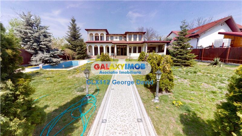 Vila unicat Lux in Otopeni  Mc Donalds, cu piscina TUR VIRTUAL