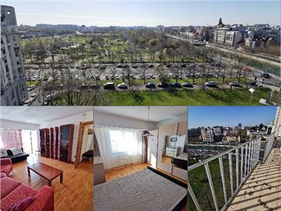 *TUR VIDEO! 2 camere + terasa priveliste superba Parcul Izvor!